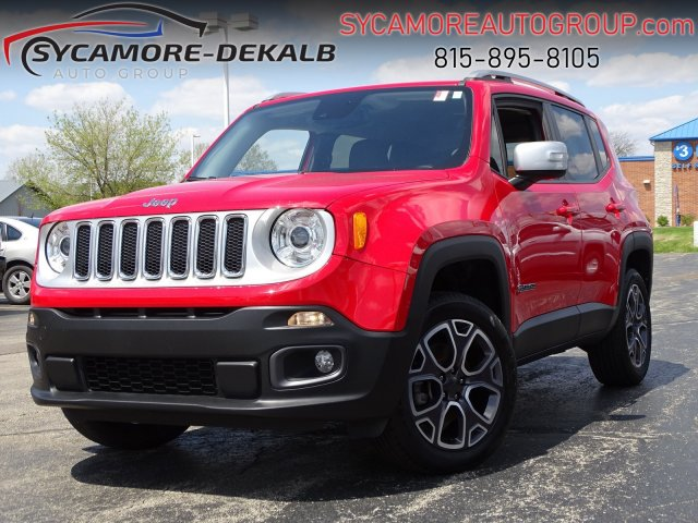 Jeep Renegade Limited >> Pre Owned 2017 Jeep Renegade Limited 4wd